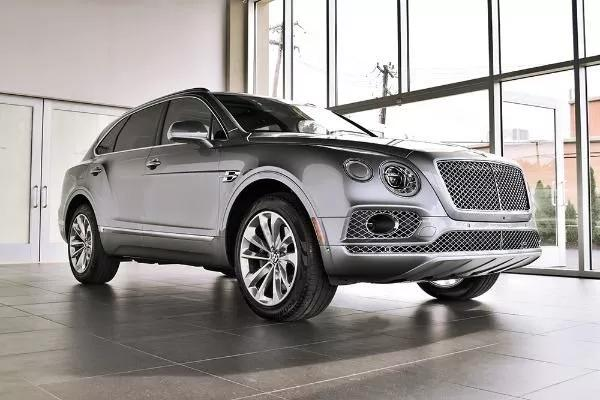Certified 2017 Bentley Bentayga