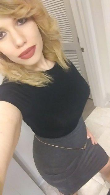 Sexy, curvy blonde that you just can't say no to.