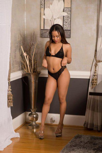 Your petite ebony doll