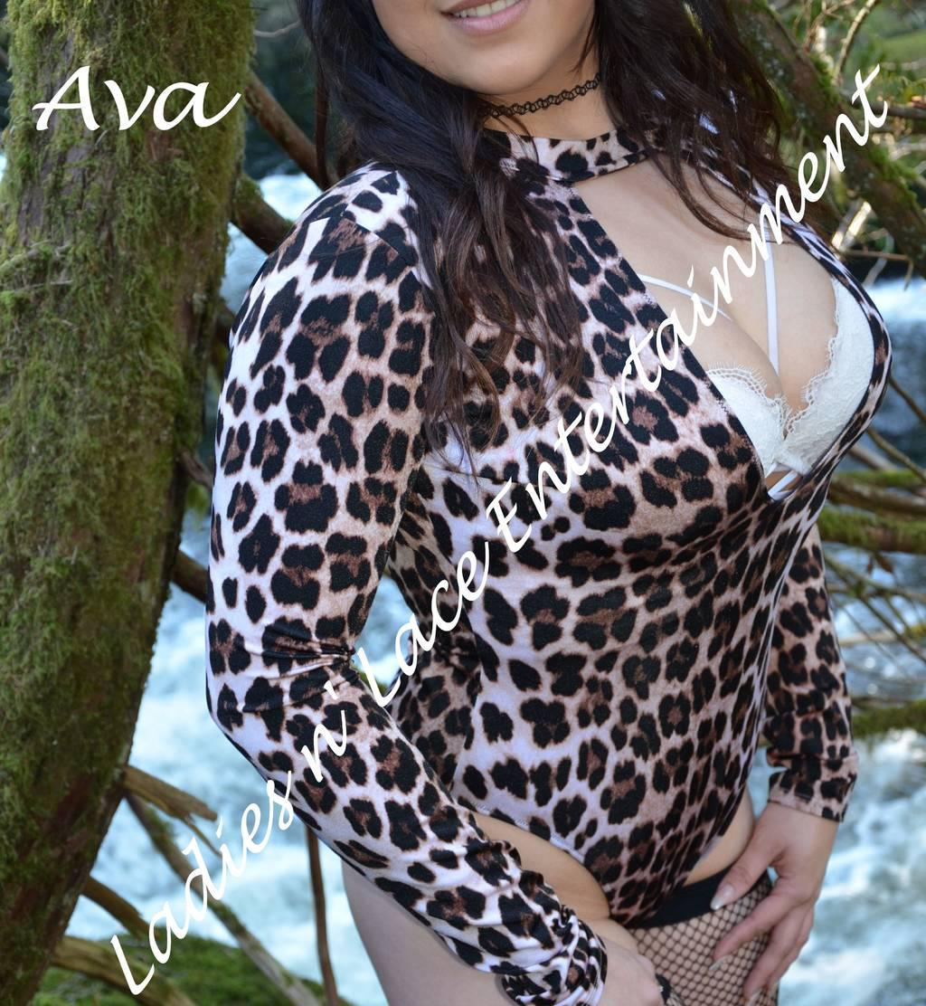 Ava, petite beautiful, and FLEXIBLE!